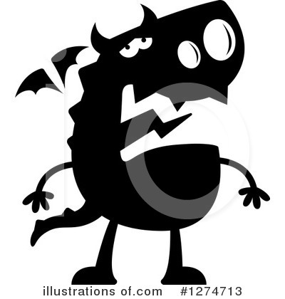 Dragon Clipart #1274713 by Cory Thoman