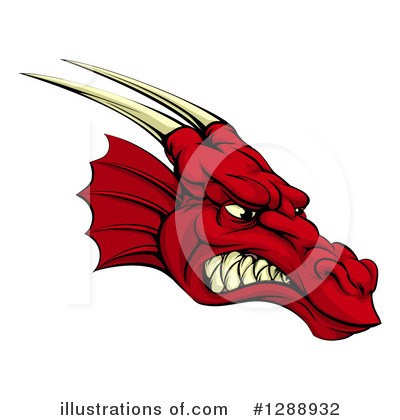 Dragon Clipart #1288932 by AtStockIllustration