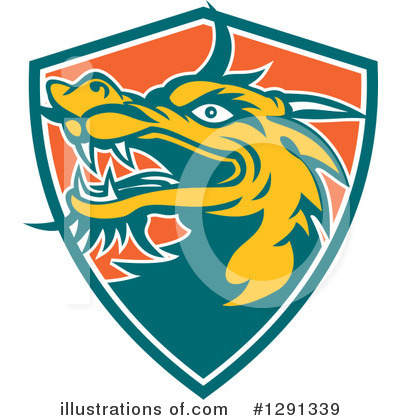 Chinese Dragon Clipart #1291339 by patrimonio