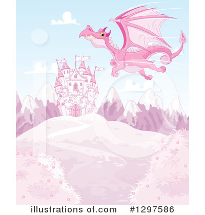 Dragon Clipart #1297586 by Pushkin