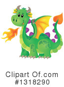 Dragon Clipart #1318290 by visekart