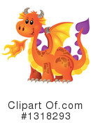 Dragon Clipart #1318293 by visekart