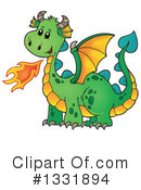 Dragon Clipart #1331894 by visekart