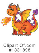 Dragon Clipart #1331896 by visekart