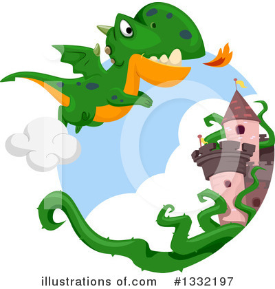 Dragon Clipart #1332197 by BNP Design Studio
