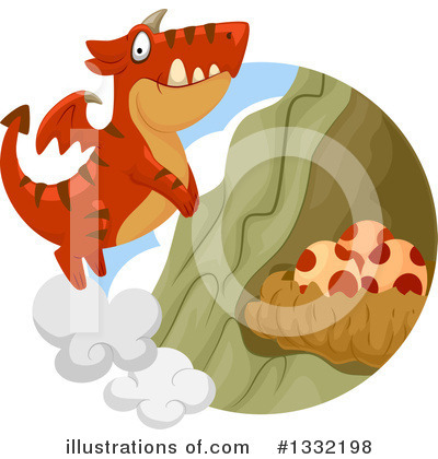 Dragon Clipart #1332198 by BNP Design Studio