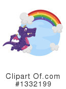 Royalty-Free (RF) Dragon Clipart Illustration #1332199