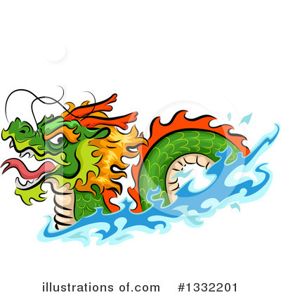 Chinese Dragon Clipart #1332201 by BNP Design Studio