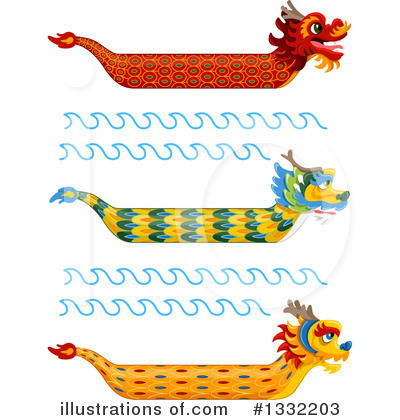 Chinese Dragon Clipart #1332203 by BNP Design Studio