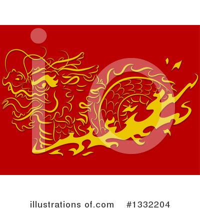 Chinese Dragon Clipart #1332204 by BNP Design Studio