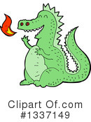 Dragon Clipart #1337149 by lineartestpilot