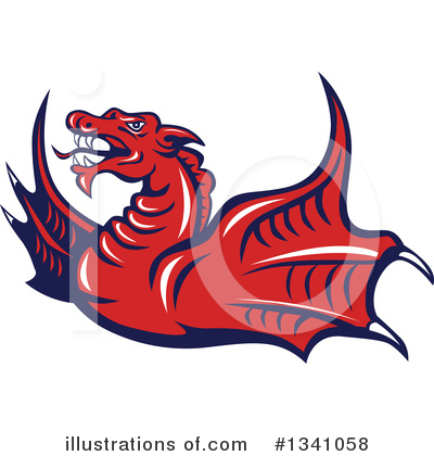 Chinese Dragon Clipart #1341058 by patrimonio