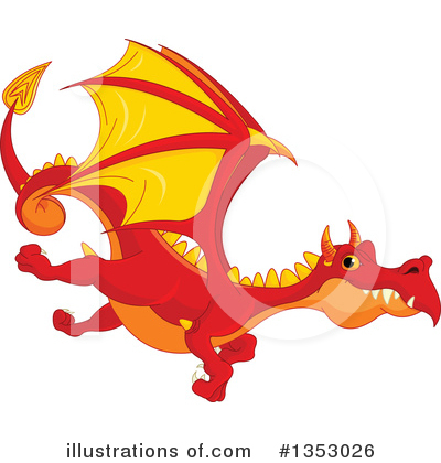 Dragon Clipart #1353026 by Pushkin