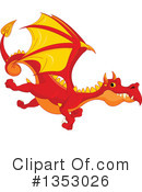 Royalty-Free (RF) Dragon Clipart Illustration #1353026