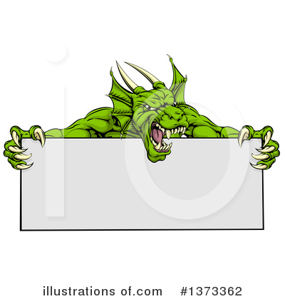 Royalty-Free (RF) Dragon Clipart Illustration by AtStockIllustration - Stock Sample #1373362
