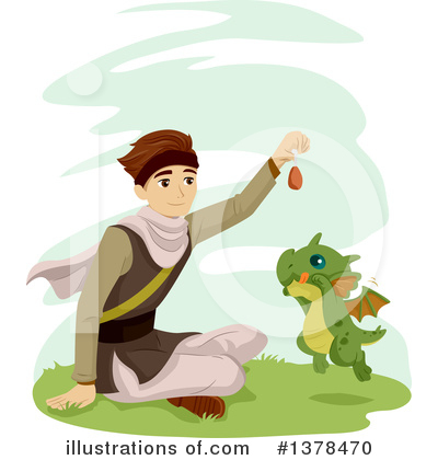 Dragon Clipart #1378470 by BNP Design Studio