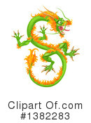 Royalty-Free (RF) Dragon Clipart Illustration #1382283