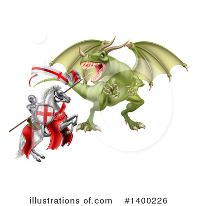 Royalty-Free (RF) Dragon Clipart Illustration by AtStockIllustration - Stock Sample #1400226