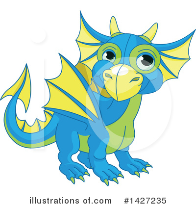 Dragon Clipart #1427235 by Pushkin
