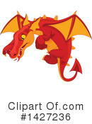 Dragon Clipart #1427236 by Pushkin