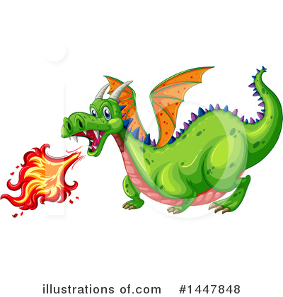 Dragon Clipart #1447848 by Graphics RF