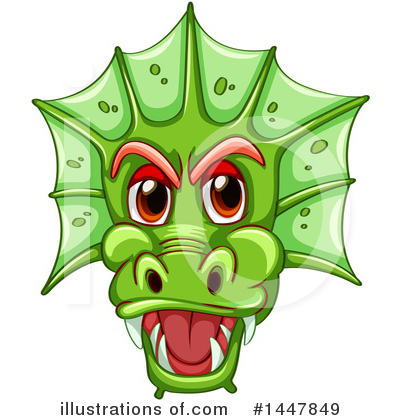 Dragon Clipart #1447849 by Graphics RF