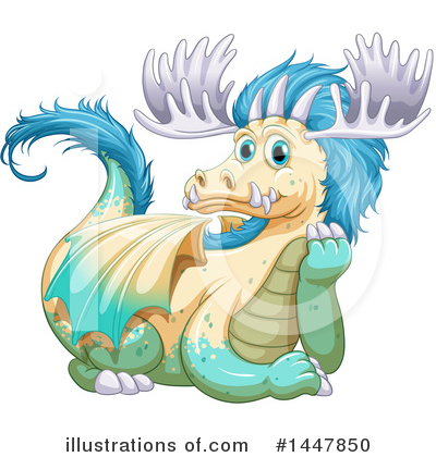 Dragon Clipart #1447850 by Graphics RF