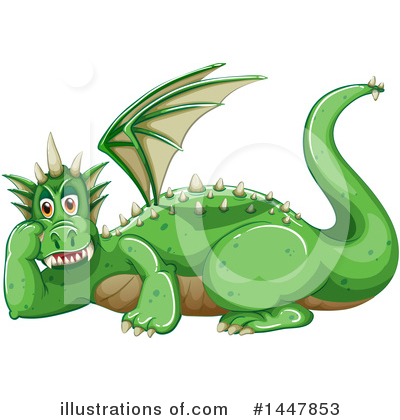 Dragon Clipart #1447853 by Graphics RF