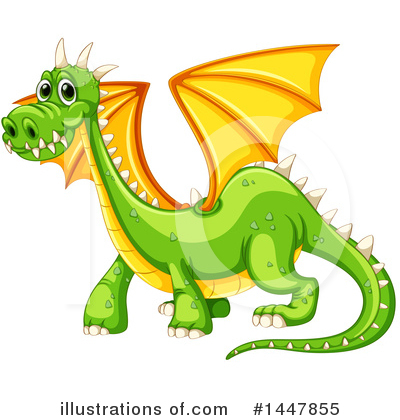 Dragon Clipart #1447855 by Graphics RF