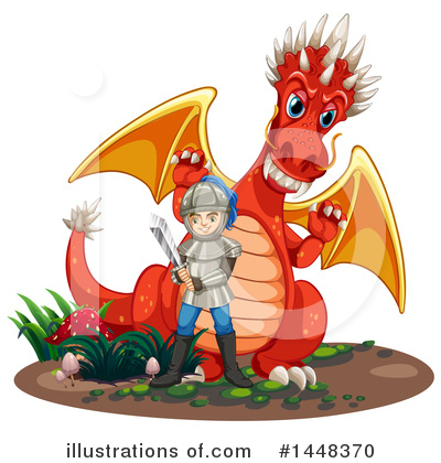 Dragon Clipart #1448370 by Graphics RF