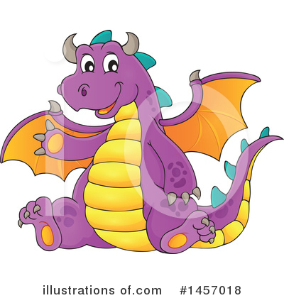 Dragon Clipart #1457018 by visekart