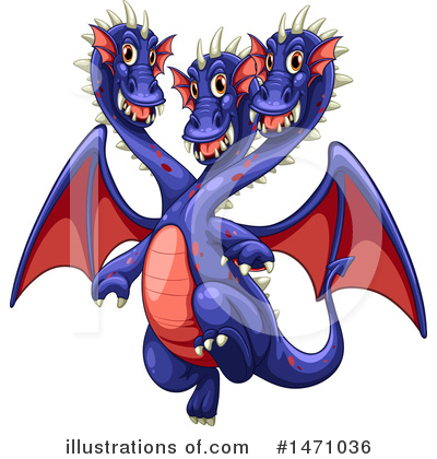 Dragon Clipart #1471036 by Graphics RF