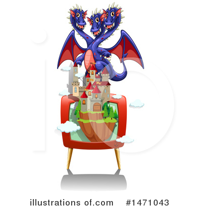 Dragon Clipart #1471043 by Graphics RF