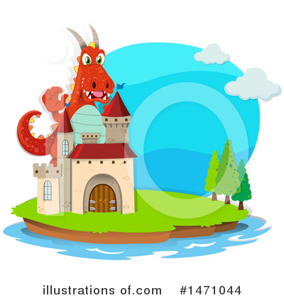 Dragon Clipart #1471044 by Graphics RF