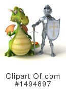 Dragon Clipart #1494897 by Julos