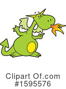 Dragon Clipart #1595576 by Johnny Sajem