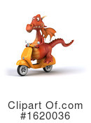 Dragon Clipart #1620036 by Julos
