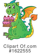 Dragon Clipart #1622555 by visekart