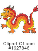 Dragon Clipart #1627846 by visekart