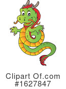 Dragon Clipart #1627847 by visekart