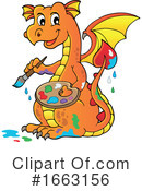 Dragon Clipart #1663156 by visekart