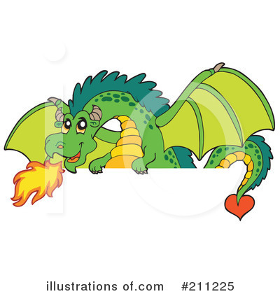 Dragon Clipart #211225 by visekart