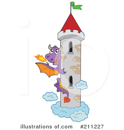 Dragon Clipart #211227 by visekart