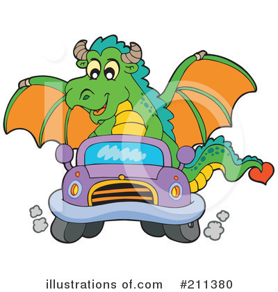 Dragon Clipart #211380 by visekart