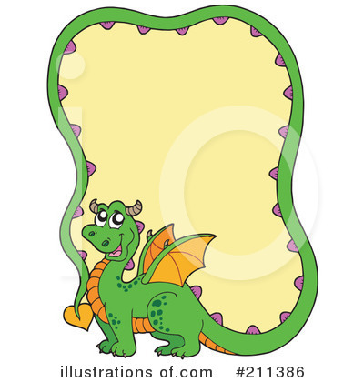 Dragon Clipart #211386 by visekart