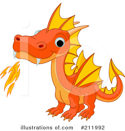 Dragon Clipart #211992 by Pushkin