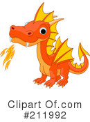 Royalty-Free (RF) Dragon Clipart Illustration #211992