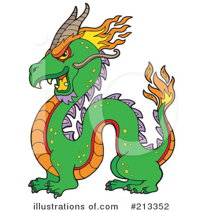 Dragon Clipart #213352 by visekart