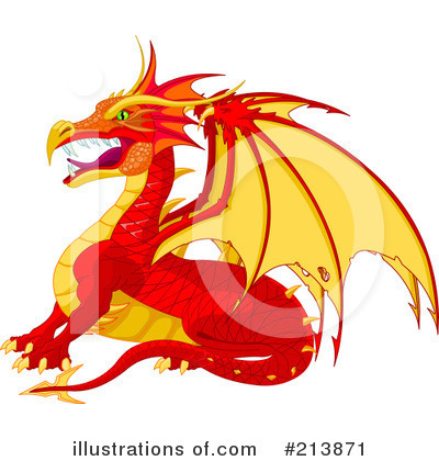 Dragon Clipart #213871 by Pushkin