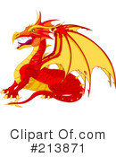Royalty-Free (RF) Dragon Clipart Illustration #213871
